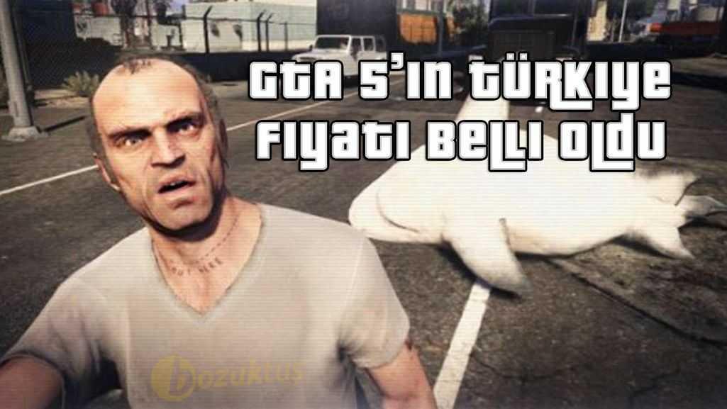 GTA 5'in Türkiye Fiyatı Belli Oldu