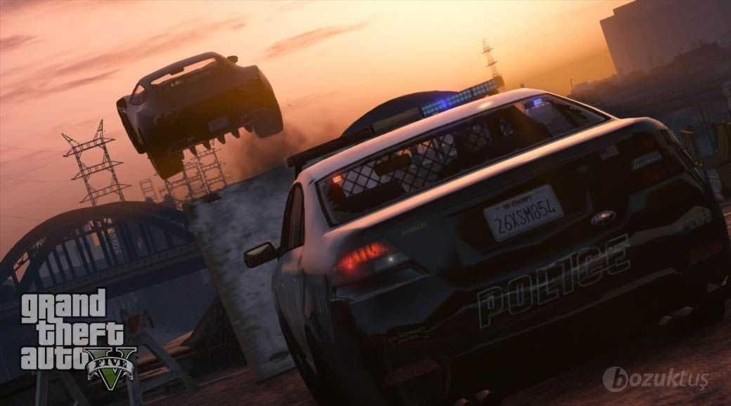 GTA 5, GTA 5 Polis