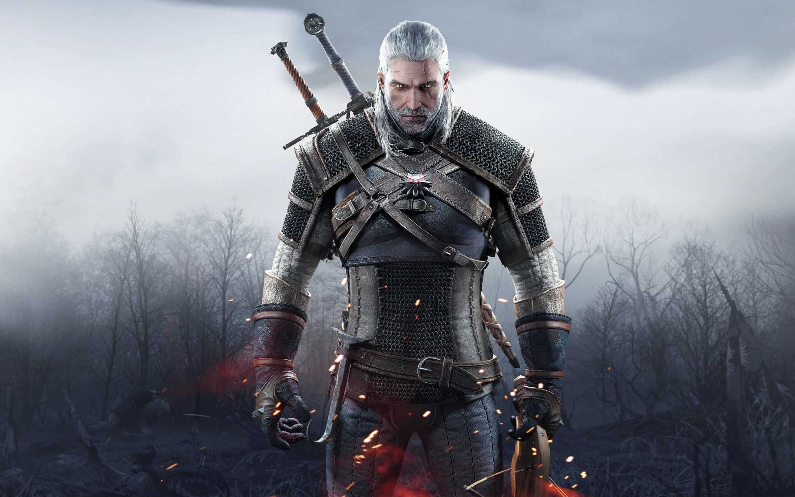 The Witcher 3: Wild Hunt, Geralt