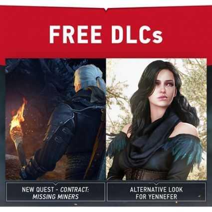 The Witcher 3: Wild Hunt için 2 ücretsiz DLC daha duyuruldu