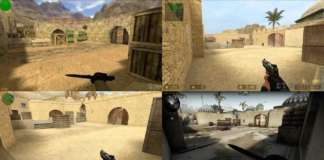 dust 2 haritasinin 16 yillik degisimi video