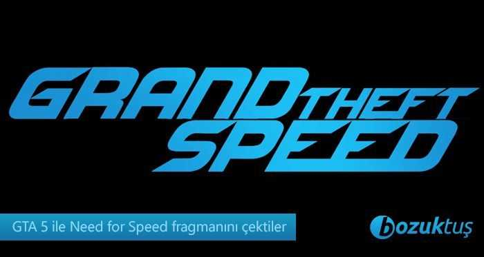Need for Speed,Grand Theft Speed,GTA 5