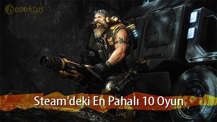 Steam,Steam'deki En Pahalı 10 Oyun