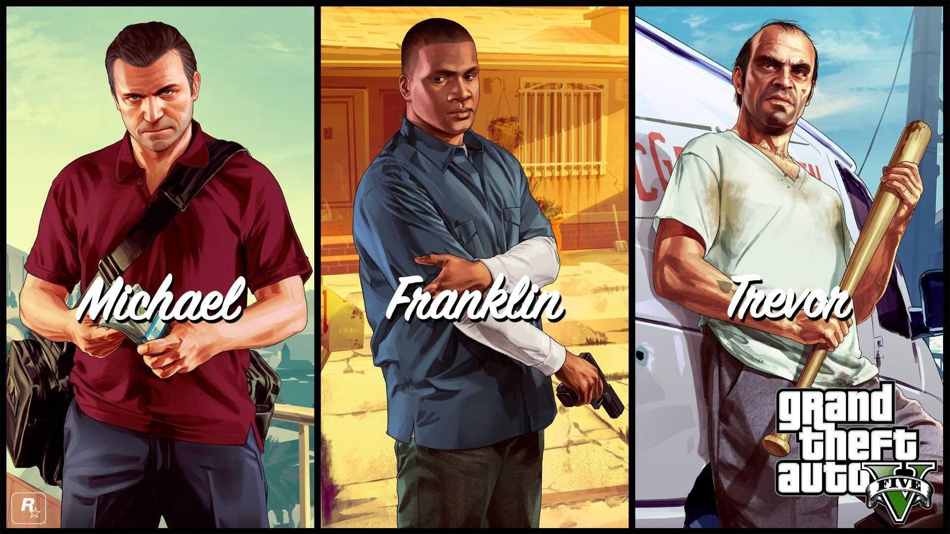 GTA 5 Karakterler
