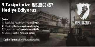 Insurgency Kazanan 3 Takipçimiz Belli Oldu!