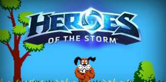 heroes of the storm da duck hunt oynayin
