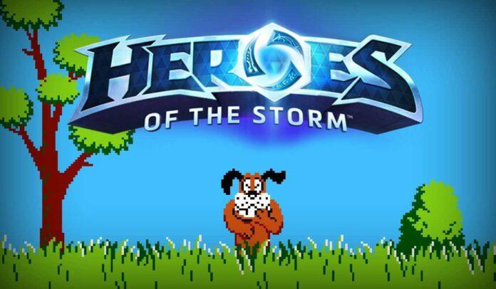heroes of the storm da duck hunt oynayin