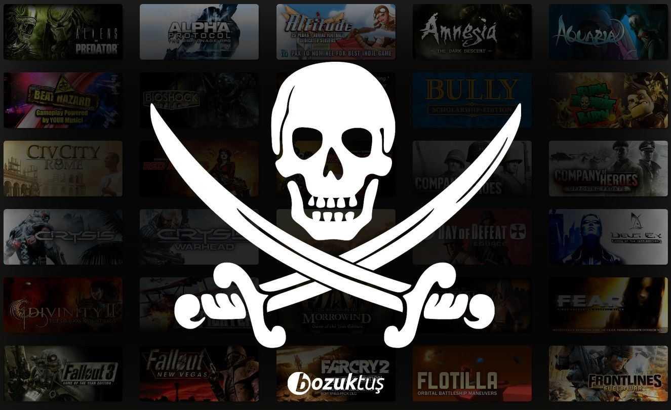 korsan oyunlar,pirated games