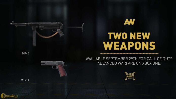Call of Duty: Advanced Warfare'a yeni silahlar geliyor