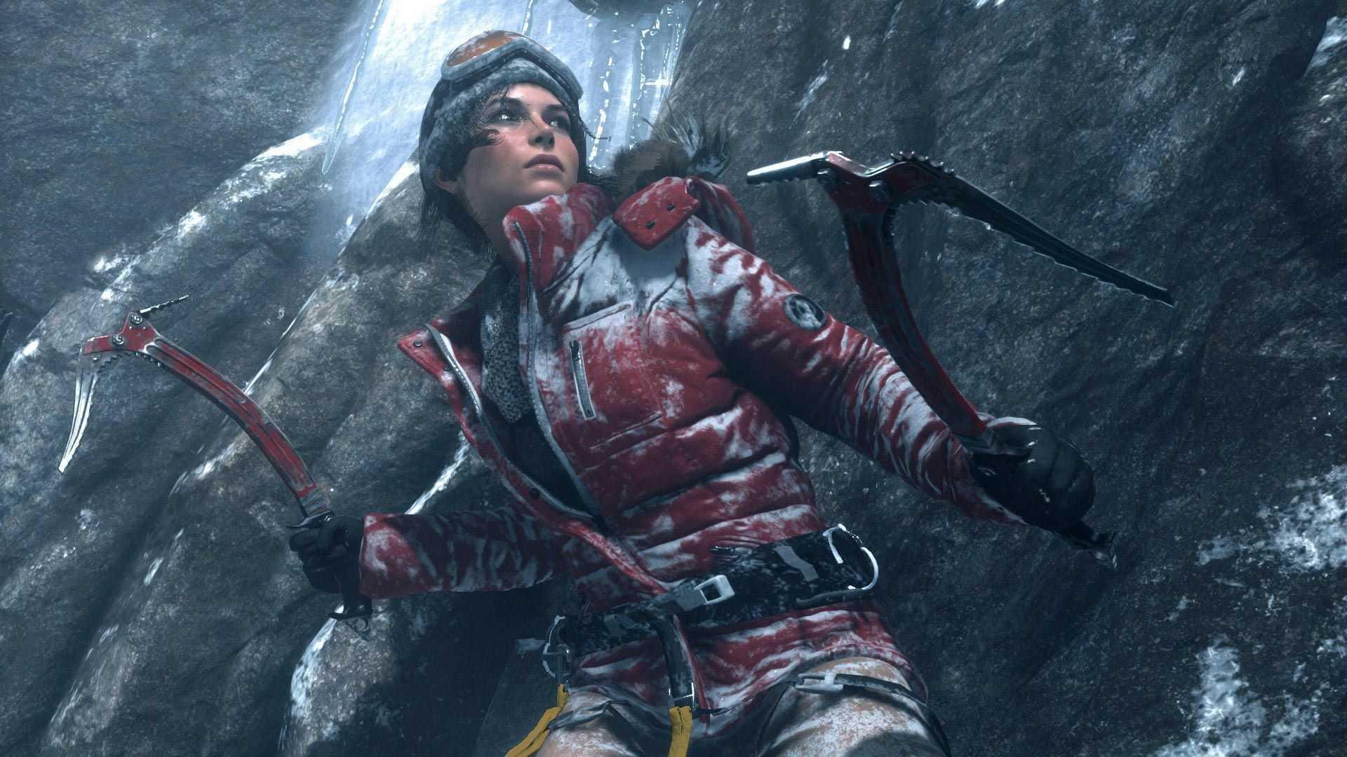 Rise of the Tomb Raider ilk Xbox 360 görüntüleri
