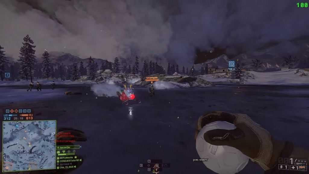Battlefield 4'e kar topları geldi