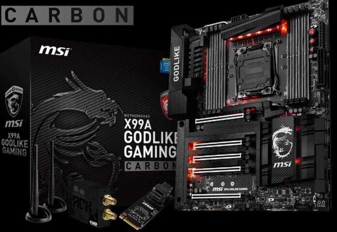MSI Carbon Edition anakartları tanıtıldı