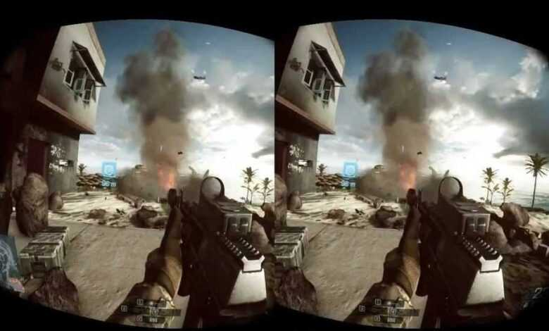 Battlefield 5 sanal gerçeklik