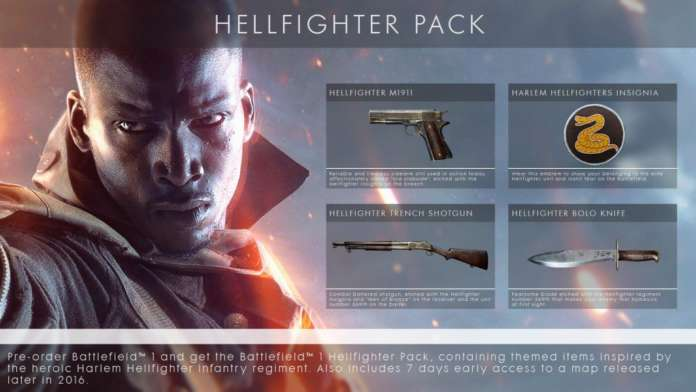 Battlefield 1 Hellfighter Paketi