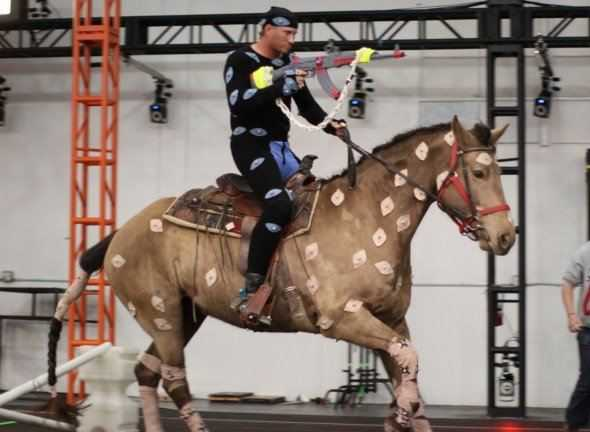 call of duty black ops 2 horse motion capture