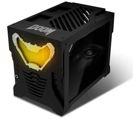 doom temalı kişiselleştirilmiş bilgisayar