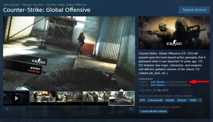 Steam kullanıcı inceleme sistemi genişledi
