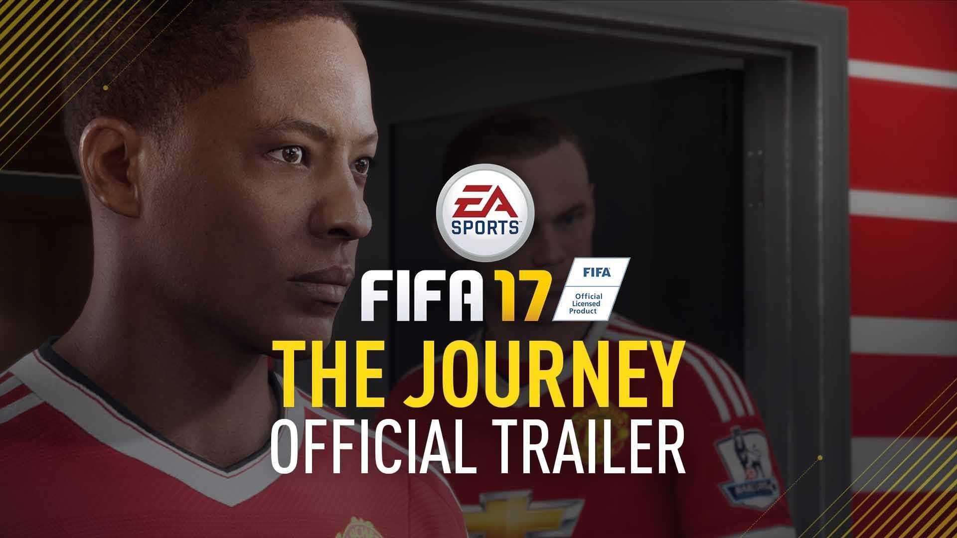 FIFA 17 Hikaye modu The Journey Fragman