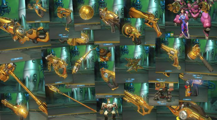 Overwatch Golden Guns