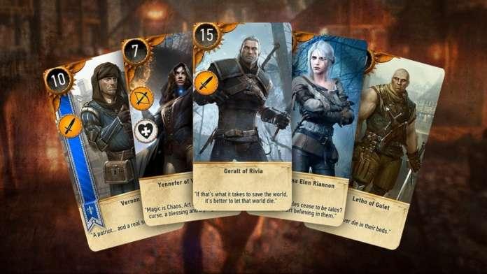 The Witcher 3: Wild Hunt Gwent