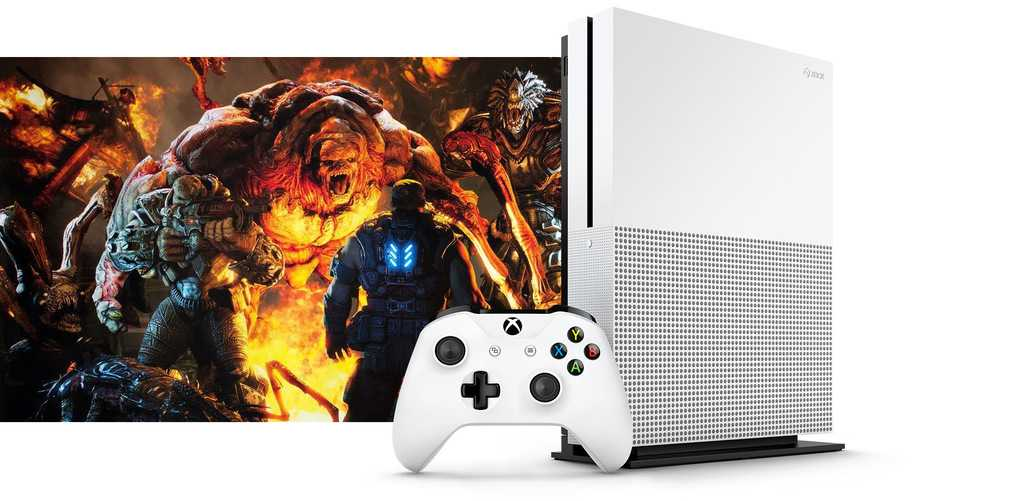 Xbox One Slim ilk görsel