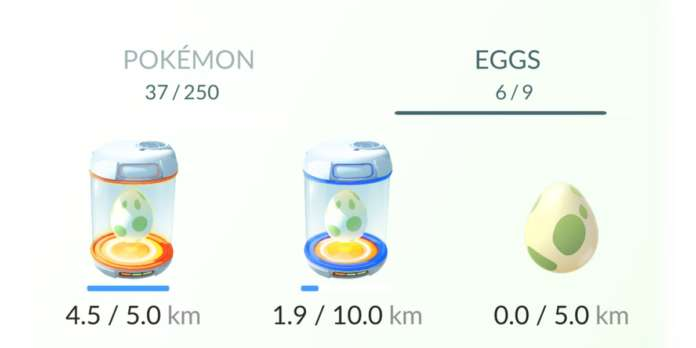 Pokemon GO Egg Incubator