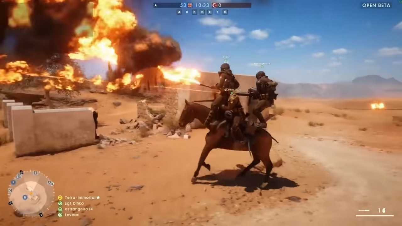 Battlefield 1 Beta Glitch