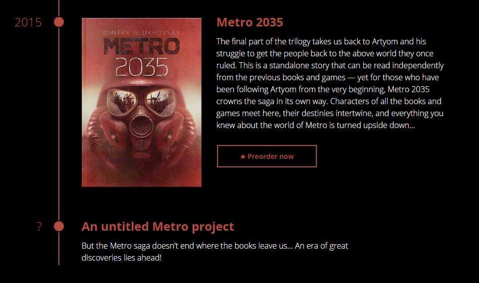 Metro 2035 Kitap