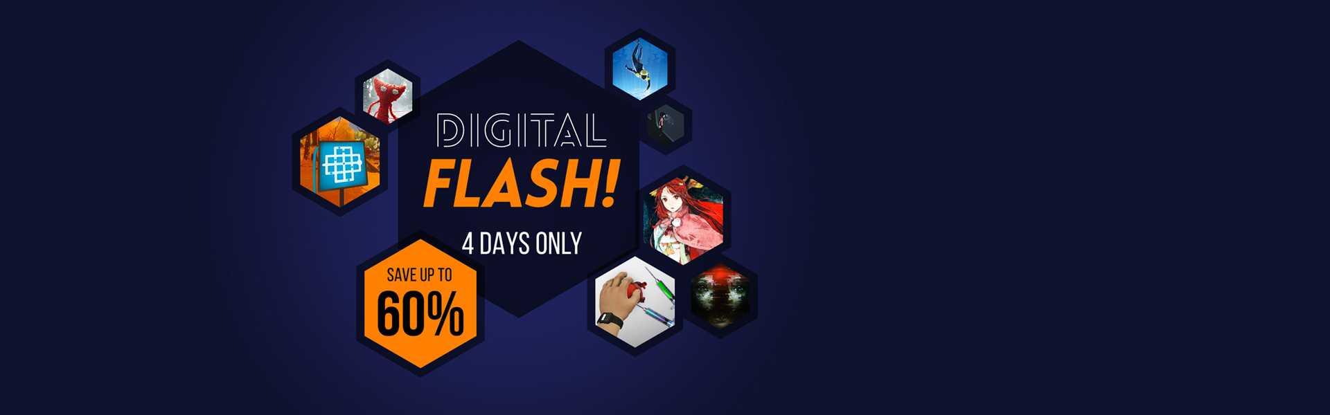 PlayStation Store Digital Flash