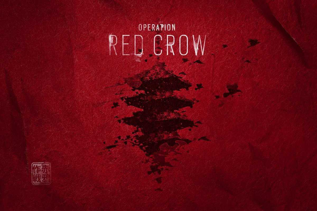 Rainbow Six Siege Operation Red Crow