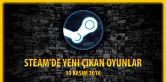 Steam'de Yeni Çıkan Oyunlar