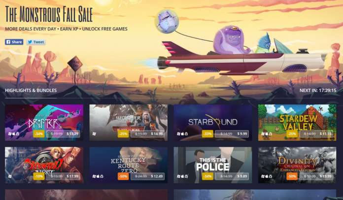 The Monstrous Fall Sale