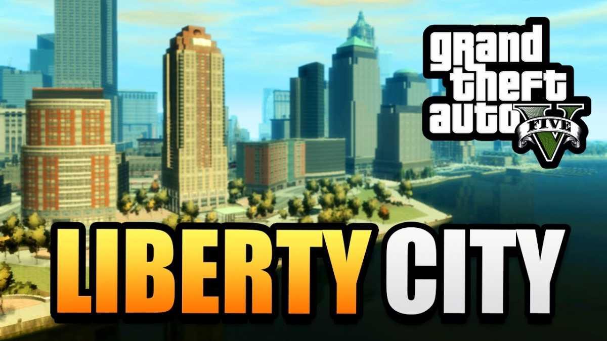 GTA V Liberty City