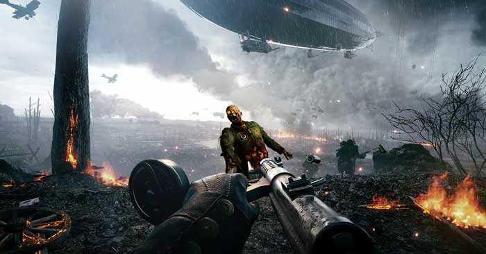Battlefield 1'e Zombi