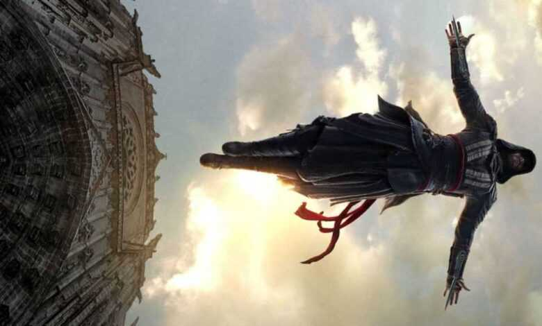 Assassins Creed flying