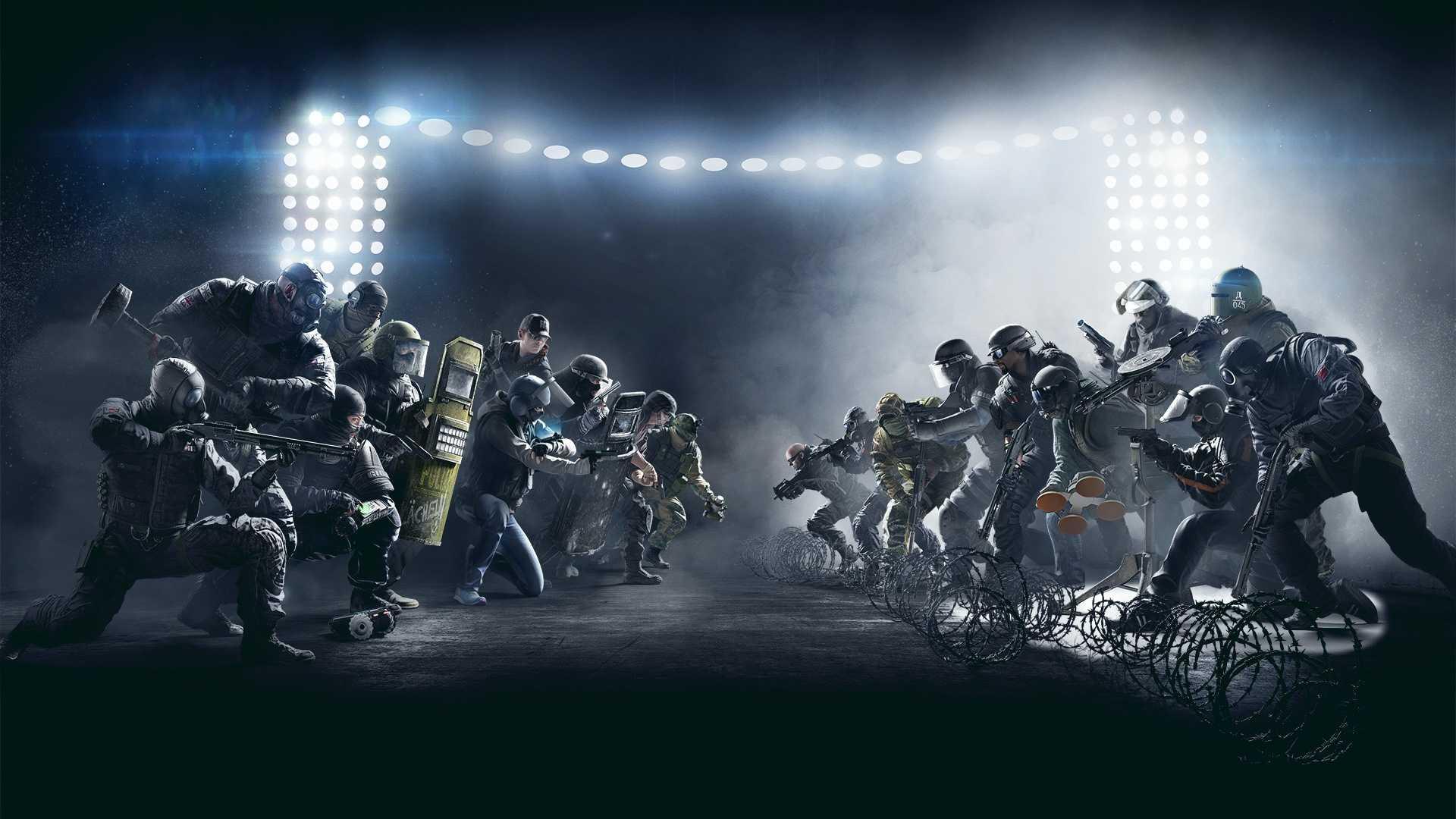 rainbow six siege fight