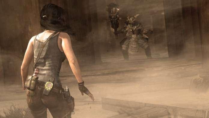Tomb Raider 2013 fight