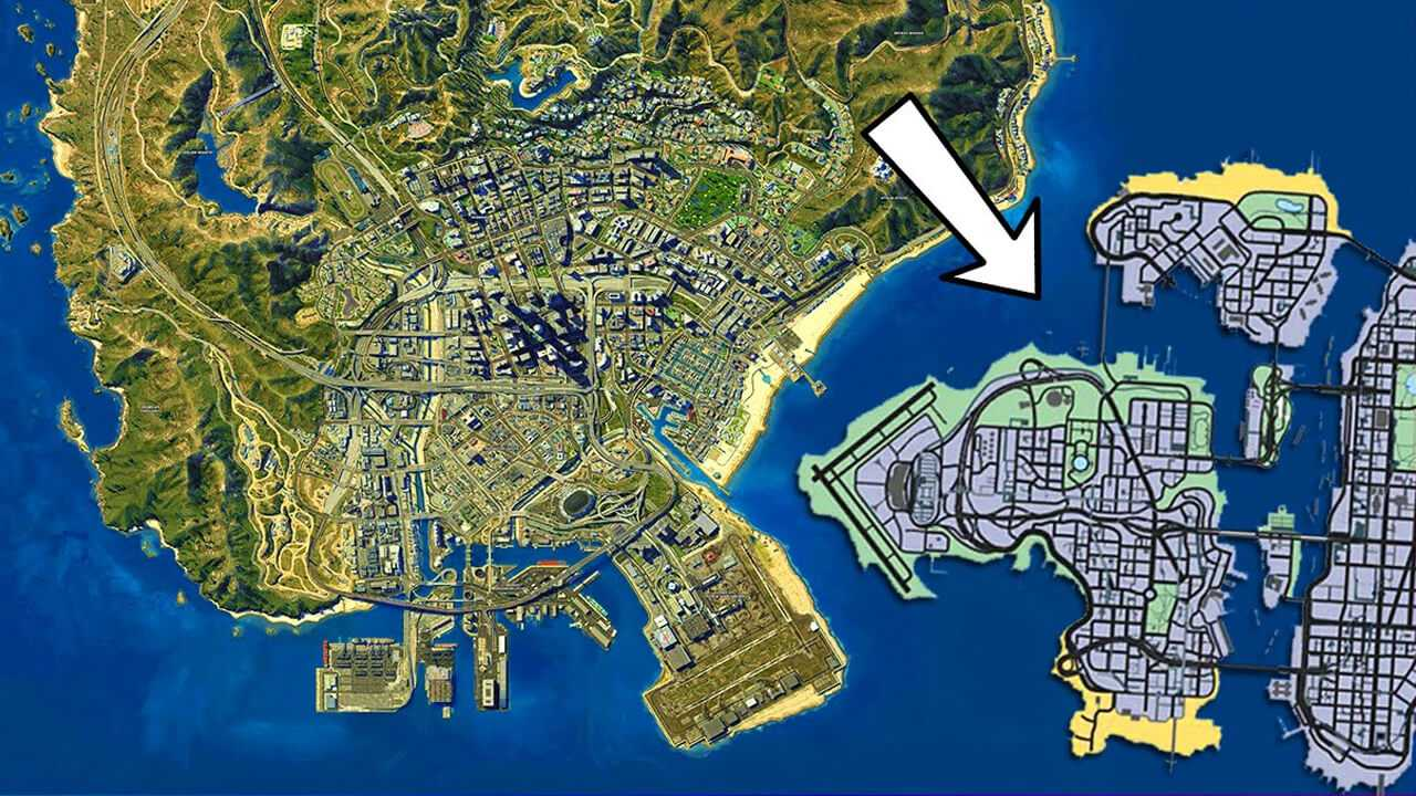 Grand Theft Auto V Liberty City