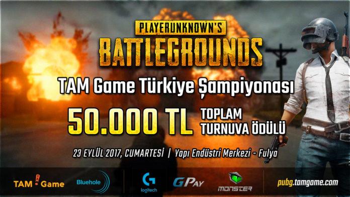 PlayerUnknown's Battlegrounds Turnuvası