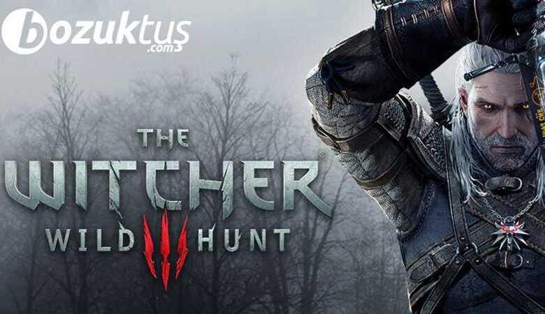 Witcher 3 Wild Hunt turkce