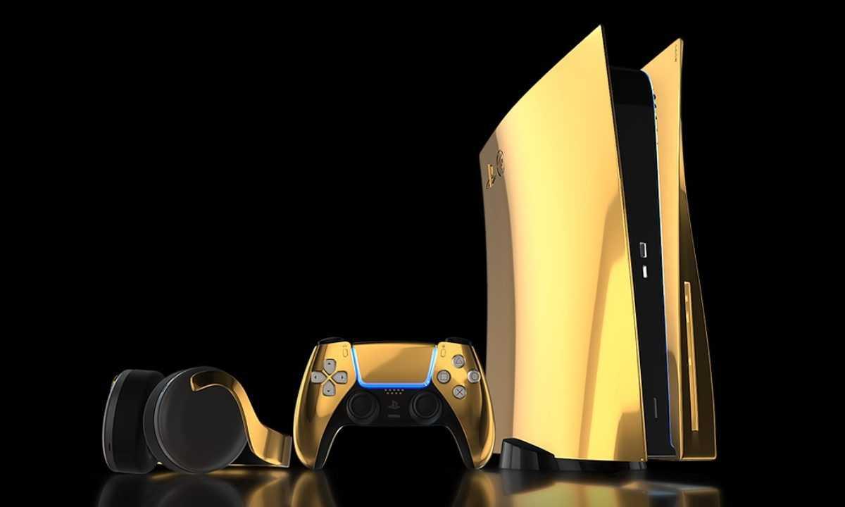 Altın Kaplama PlayStation 5