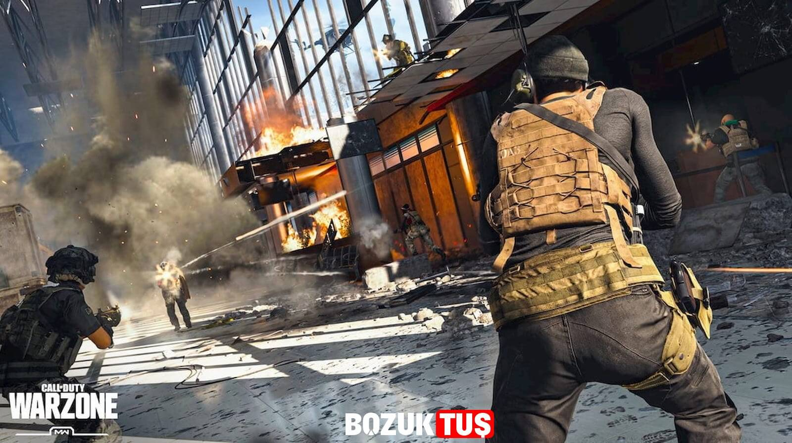 call of duty warzone kaç gb